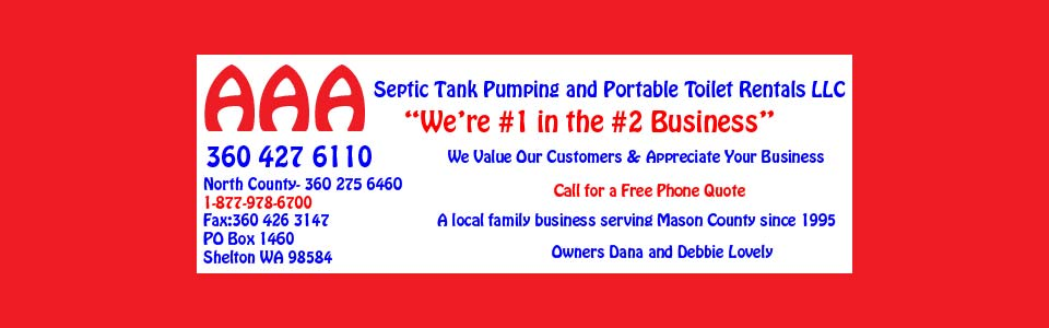 Aaa Septic Tank Pumping In Shelton Wa Residential